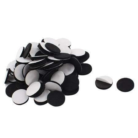 Household Furniture (Household Self Adhesive Protector Furniture Felt Pads Mats Black 25mm)