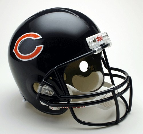 Chicago Bears Riddell Deluxe Replica Helmet