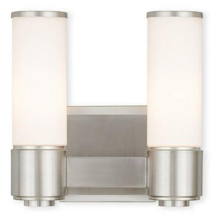 Livex Lighting Weston 2 Light ADA Wall Sconce/ Bath Vanity 2 Light Ada Bath