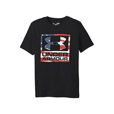 a7f69f94 Under Armour - Under Armour Boys' Big Flag Logo - Walmart.com