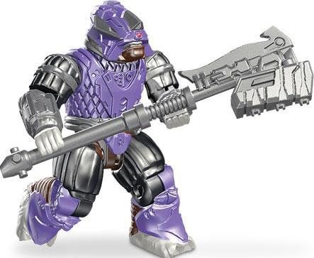 Mega Bloks Halo Series 9 Brute Stalker Minifigure [Purple Loose] by