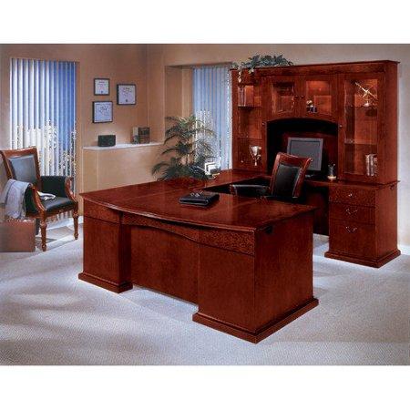Dmi Office Furniture Del Mar U Shape Executive Desk With Hutch