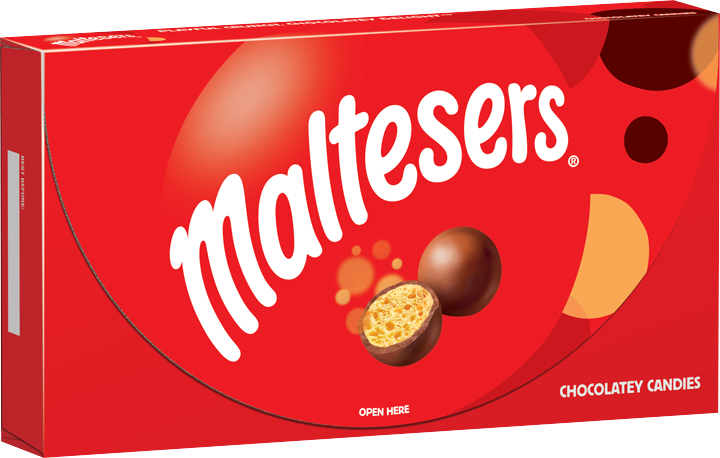 MALTESERS Original Holiday Chocolatey Christmas Candy Gift Box 12.7-Ounce Box by Mars Snackfood