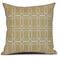 Simply Daisy, Knot Fancy, Geometric Print Outdoor Pillow