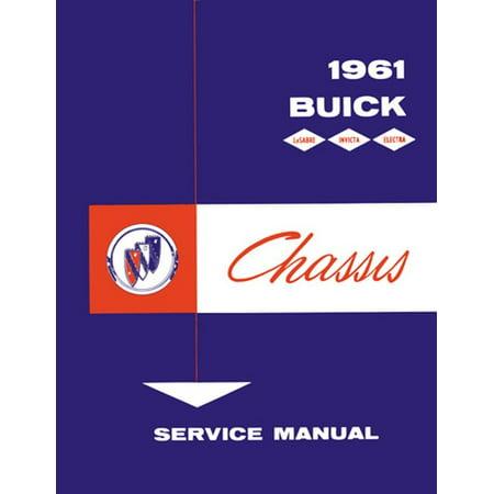 Bishko OEM Repair Maintenance Shop Manual Bound for Buick Electra, Invicta, Lesabre - Chassis 1961