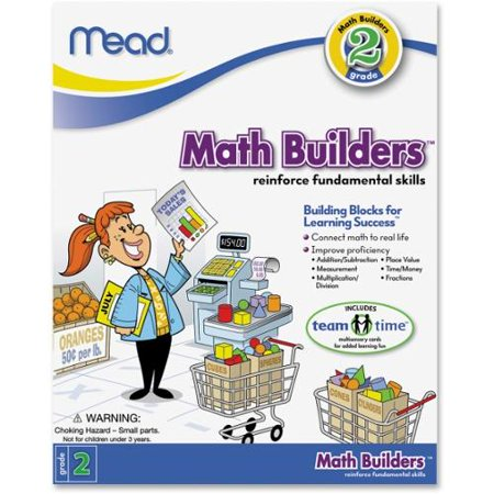 Mead Second Grade Math Builders Workbook Education Printed Book for Mathematics - Published on: 2012 February 13 - Book