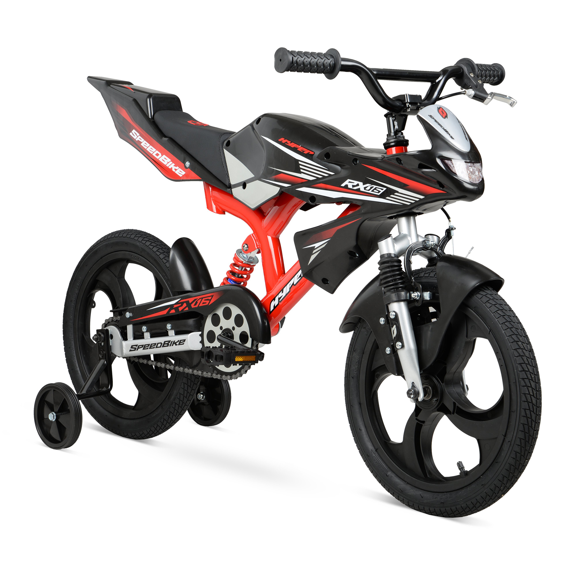 "Click here to buy Hyper Bicycles 16"" Speedbike Kids Bike by Hyper Bicylces."