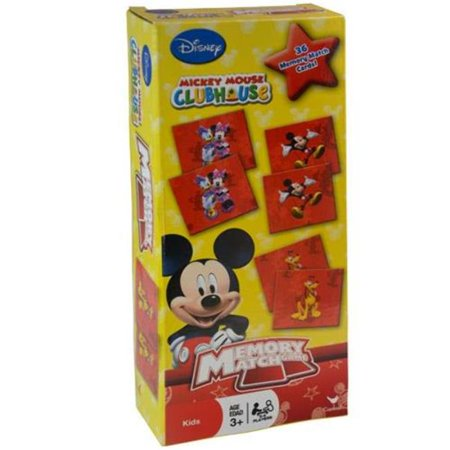 Disney  Mickey Mouse Tower Memory Match Game (Disney Channel Com Friends For Change Games)