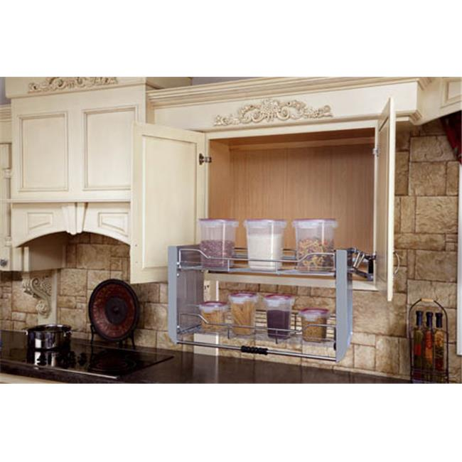 Etonnant Rev A Shelf Rs5Pd.36Crn 36 In. Cabinet Pull Down Shelving System