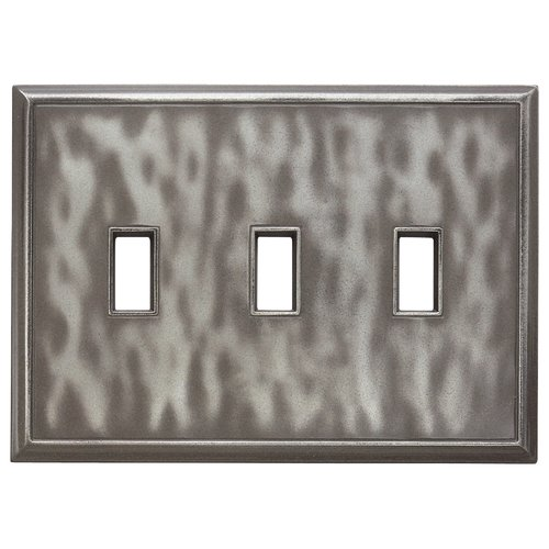 RQ Home Classic Magnetic Triple Toggle Wall Plate