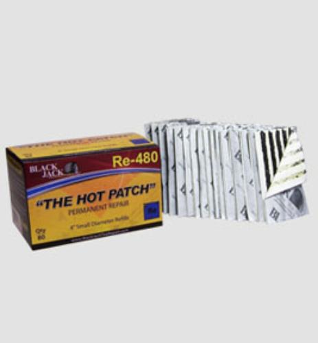 "Black Jack Tire Repair BJK-RE-480 4"" Small Diameter Refills ""80 Per Box"""