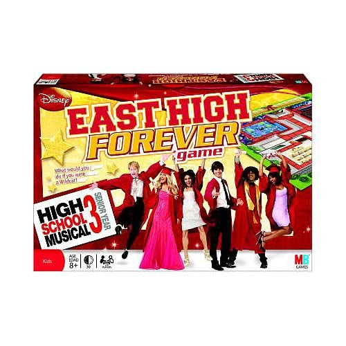 High School Musical 3 Senior Year Game, Join the East High gang as they step up to their biggest challenge... by