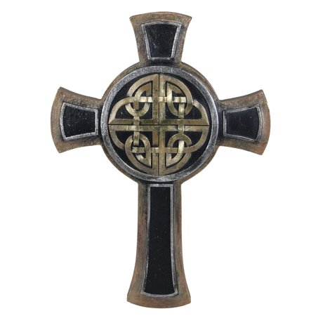 "9.25"" Single Celtic Knot Designed Religious Wall Cross"