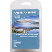 American Home by Yankee Candle Clear Mountain Lake, 2.6 oz Fragranced Wax Cubes