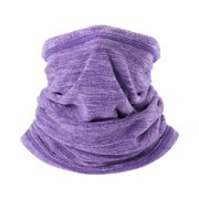 Winter Warm Collar Neck Gaiter Soft Fleece Scarf Windproof and Coldproof Warmer Face Mask for Winter Outdoor Sports