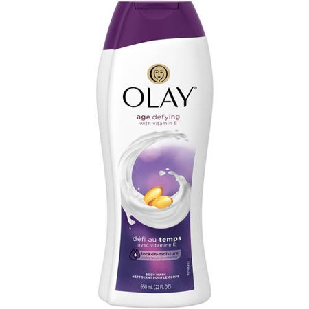 Olay Age Defying with Vitamin E Body Wash, 22 oz