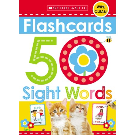 Flashcards - Sight Words (Scholastic Early Learners) - Sight Word Flash Cards