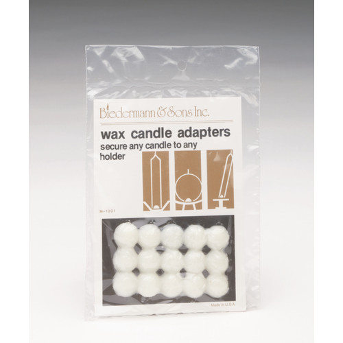 Biedermann and Sons Wax Dots Candle Adapter (Set of 3) (Set of 30)