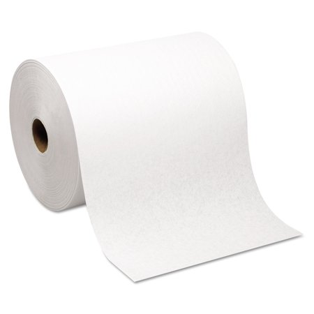 Georgia Pacific Professional 26470 Hardwound Roll Paper Towel, Nonperforated, 7.87 X 1000ft, White, 6 Rolls/carton