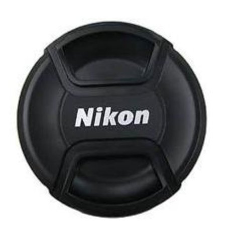 Replacement Snap-On Lens Cap Cover Center Pinch for Nikon AF-P DX NIKKOR 18-55mm f/3.5 G VR Digital Cameras with Leash , Cleaning kit and cap Holder. ()