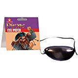 Child Swashbuckling Scallywag Pirate Eye Patch, Black, One Size