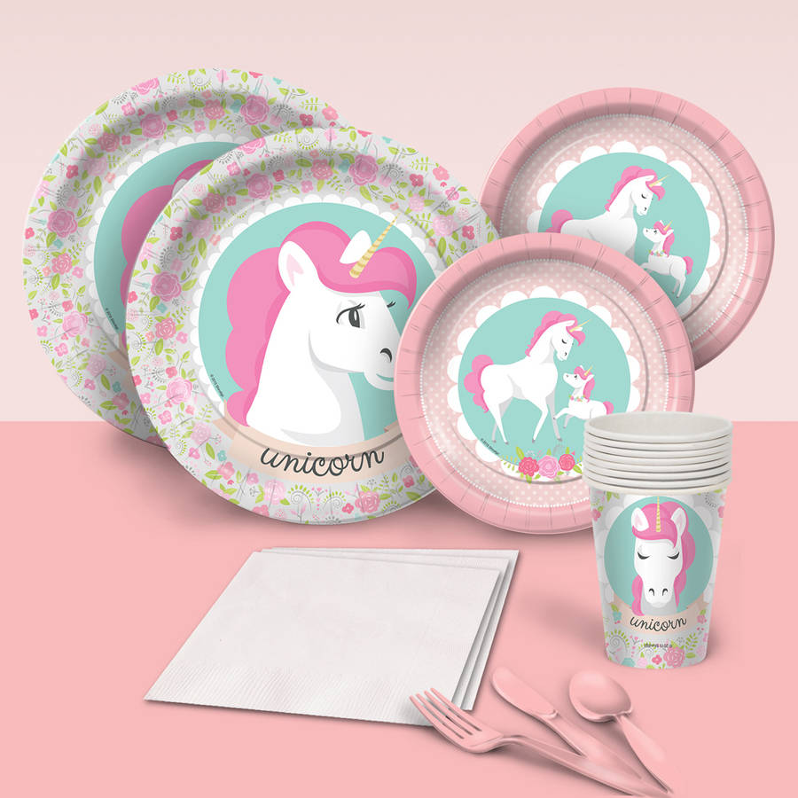 Unicorn Party Pack for 8