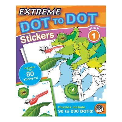Extreme Adult Game (Extreme Dot to Dot Stickers: Book 1, TOYS THAT TEACH: Studies show that connect-the-dot puzzles are one of the best tools for teaching.., By)