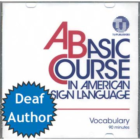 A Basic Course in American Sign Language Vocabulary DVD - Halloween Sign Language Vocabulary