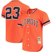 Kirk Gibson Detroit Tigers Mitchell & Ness Fashion Cooperstown Collection Mesh Batting Practice Jersey - Orange