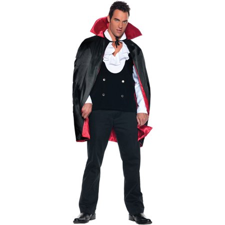 Deluxe Reversible Cape Adult Halloween Accessory for $<!---->