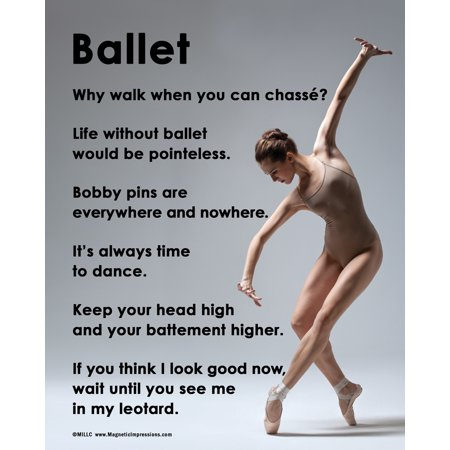 Unframed Ballet On Pointe Dance 8  X 10  Poster Print