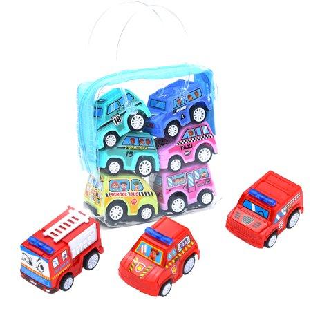 Children Simulate Educational Trailer Toy Inertia Truck Kids Race Car Set - Modern Family Halloween Trailer