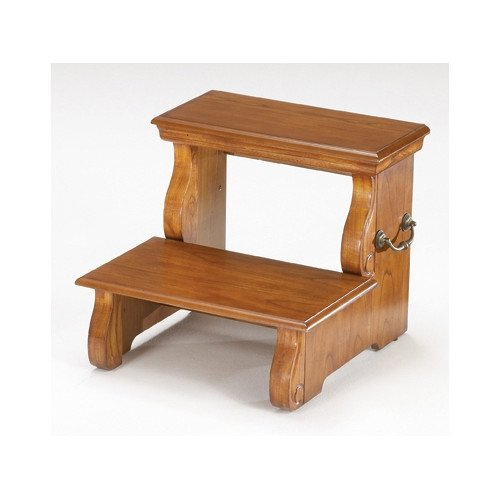 Tremendous Step Stool In Cherry Finish Pdpeps Interior Chair Design Pdpepsorg