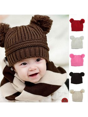 846f9a4a9c9 Product Image Heepo Winter Warm Lovely Baby Kids Boys Girls Toddler Knitted  Crochet Beanie Hat