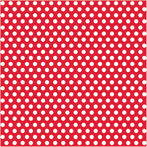 Red Polka Dots Wrapping Paper
