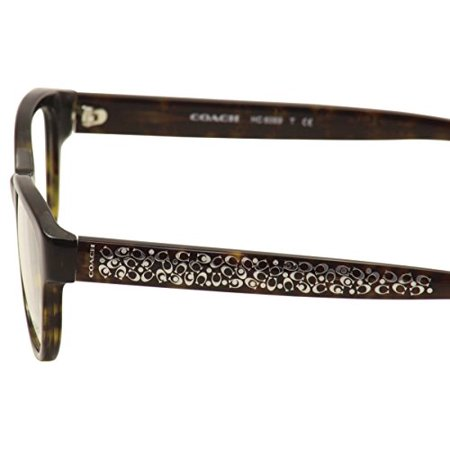 902e88a07b415 COACH Eyeglasses HC 6069 5120 Tortoise 51MM - Walmart.com