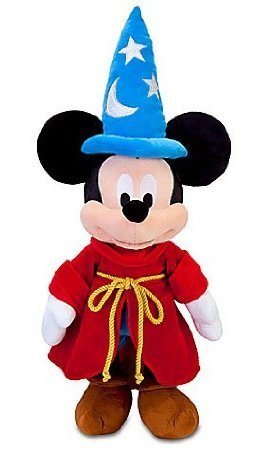 Disney Fantasia Sorcerer Mickey Mouse Plush Toy 24'' by