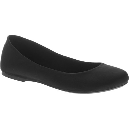 Time And Tru Womens Basic Ballet Flat