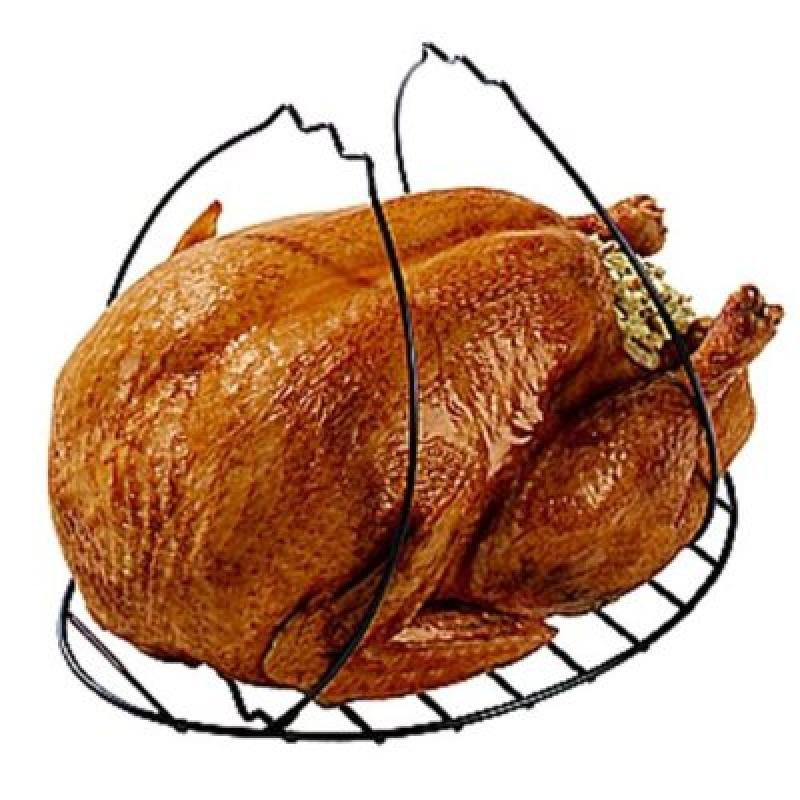 Chrome 0002 Nifty Home Products Gourmet Turkey Lifter