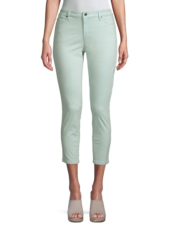 Newport High-Rise Cropped Skinny Pants