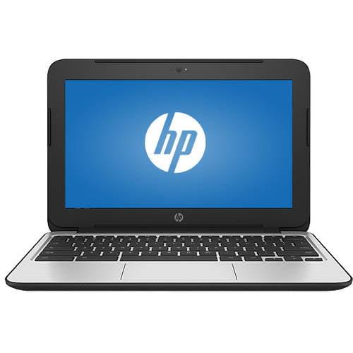 "HP Black 11.6"" P0B79UT#ABA 11 G4 Chromebook PC with Intel Celeron N2840 Processor, 2GB Memory, 16GB Flash Storage and Chrome"