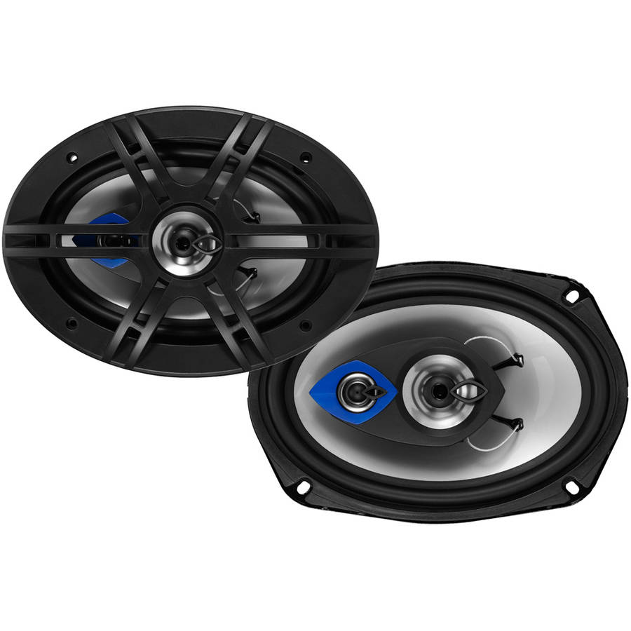 "Planet Audio PL69 Pulse 6"" x 9"" 3-Way 400W Full-Range Speakers"