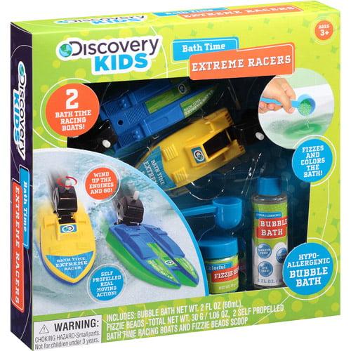 Discovery Kids Bath Time Extreme Racers Set