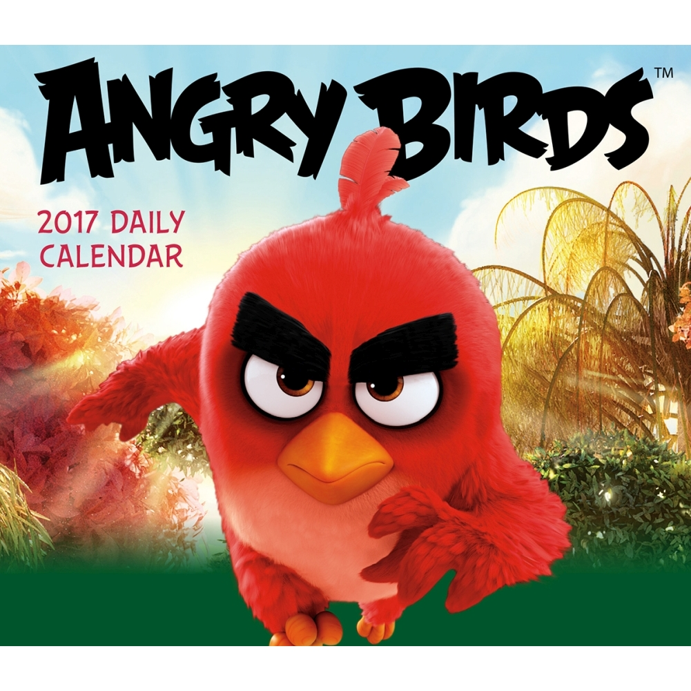 Angry Birds Desk Calendar