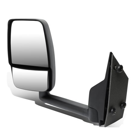 For 2003 to 2018 Chevy Express / GMC Savana 1500 / 2500 / 3500 Manual Adjustment Side View Mirror (Left / Driver)