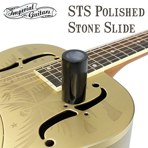 Imperial Valley Blackstone STS Polished Stone Guitar Slide Made From Real Stone