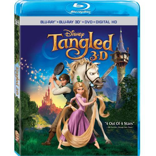 Tangled (3D Blu-ray + Blu-ray + DVD + Digital HD)