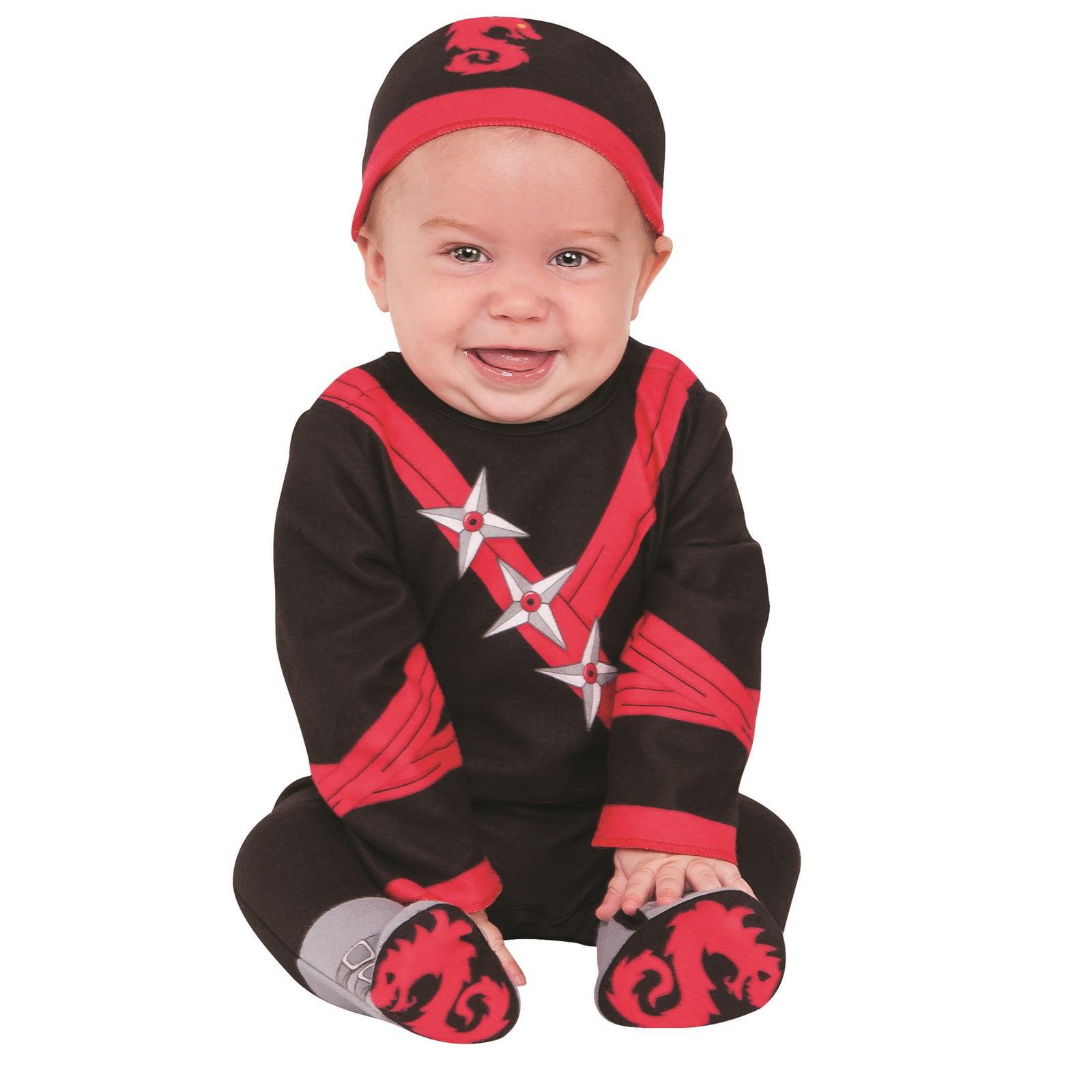 Boys Infant Todder Baby Ninja Costume