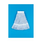 UNISAN Medium Floor Finish Mop Head in Blue Stripe