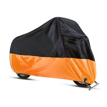 L/XL/2XL/3XL/4XL Motorcycle Waterproof Cover Case Outdoor Rain Dust UV Scooter Motorbike Protector Motorcycle (150 Scooter Covers)